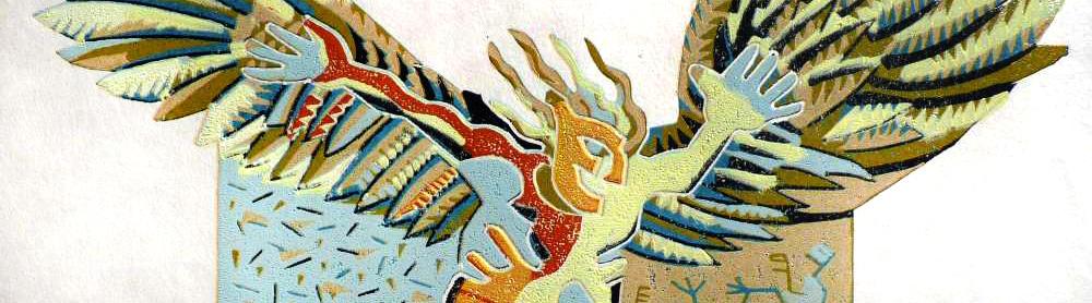 Auschnitt eines Gemäldes von Frank-Ole Haake