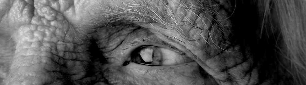 Alter Mensch Nahaufnahme