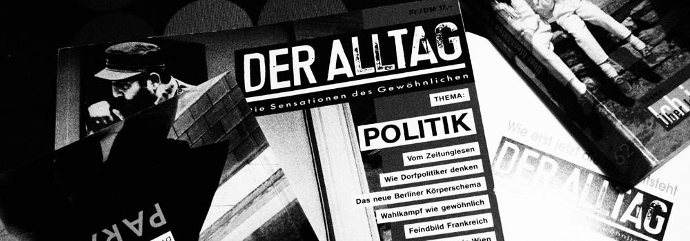 Cover der Zeitschrift ALLTAG