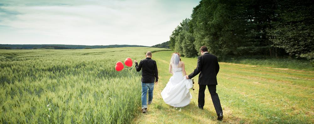 Mann Braut Bräutigam Wiese