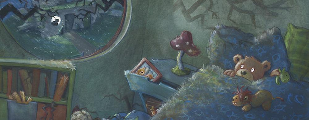 Illustration zu einem Kinderbuch