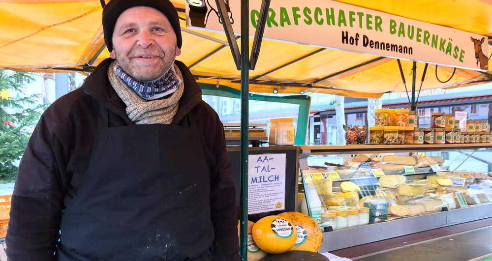 Käsehandler Albrecht Dennemann